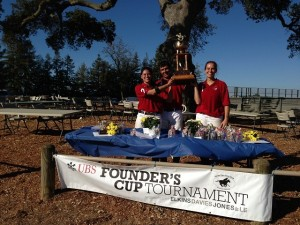 South Bay Polo Team - Winners Founder Cup 2013 Jessica Mignone, Santos Arriola, Birgit Sauer